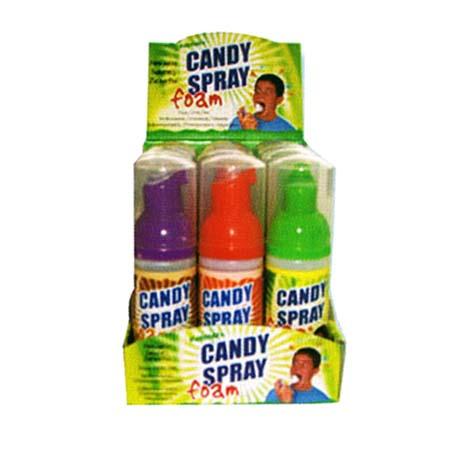 Candy skumspray