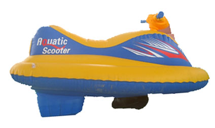 Oppblåsbar Vannscooter, Aquatic