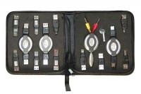 USB kabel og pluggsett